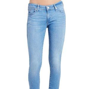True Religion Casey Super Skinny Light Blue Jeans